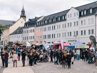 Veranstaltungen in Chemnitz - Stadtstreicher - 1. Street Food Markt Marienberg